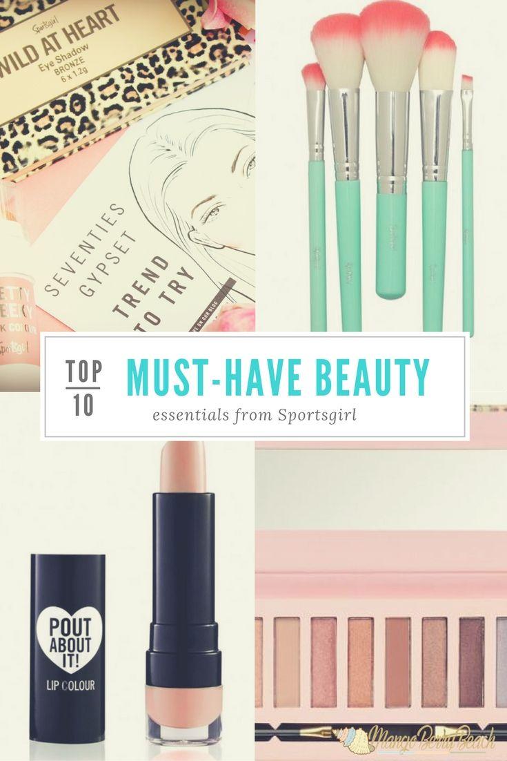 ✨Top 10 Must-Have Beauty Essentials // Sportsgirl // MangoBerry Beach✨…