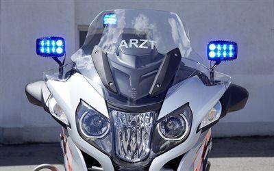 Scarica sfondi moto, ambulanza, bmw, r1200rt