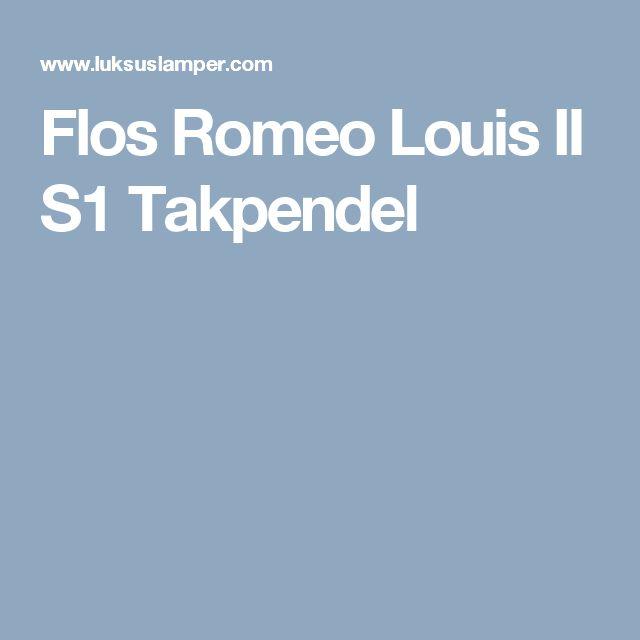 Flos Romeo Louis II S1 Takpendel