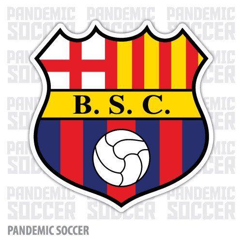 Barcelona Sporting of ECUADOR Vinyl Sticker Decal Calcomania