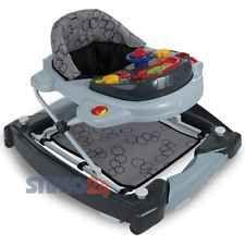 Lauflernhilfe Gehfrei Laufhilfe Baby Walker Babyschaukel Babywippe Schaukel 3IN1