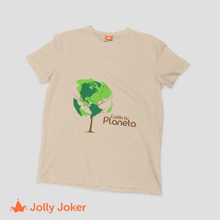 Para el día de la tierra te traemos camisetas increíbles que puedes personalizar como tu prefieras :) ¡Entra a nuestro diseñador!