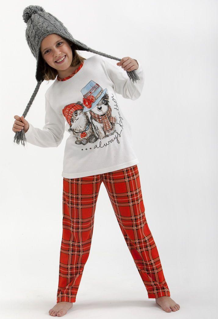 Pijama niña terciopelo Massana