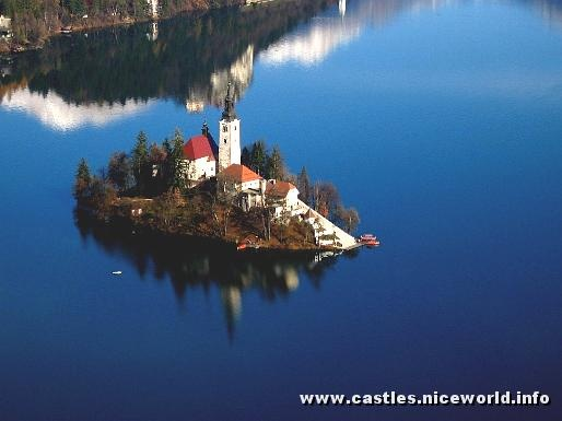 Bled lake castle - Slovenia
