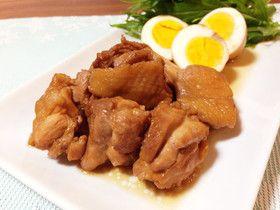 簡単20分☆鶏もも肉とゆで卵のさっぱり煮