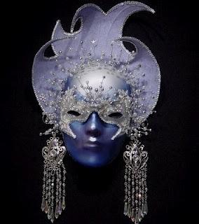 Rocaille: Venetian masks