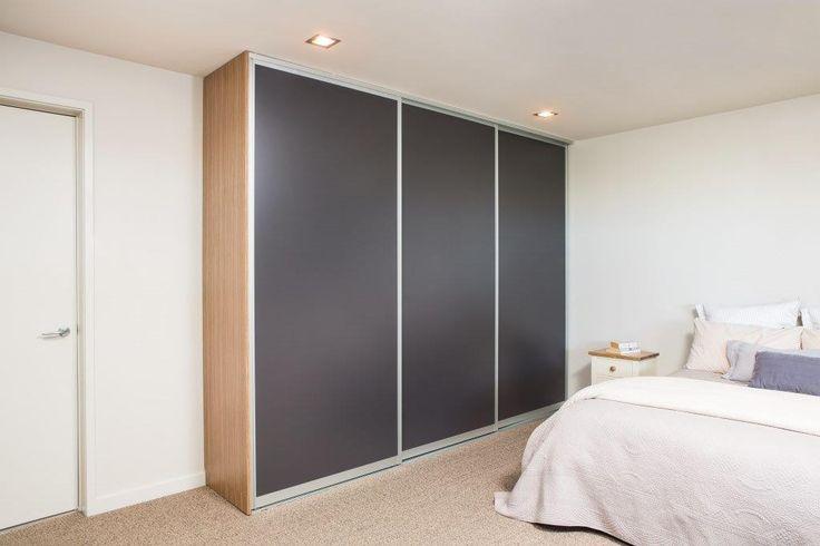 Triple Whisper Sliding doors for a built in wardrobe // Innovative Interiors