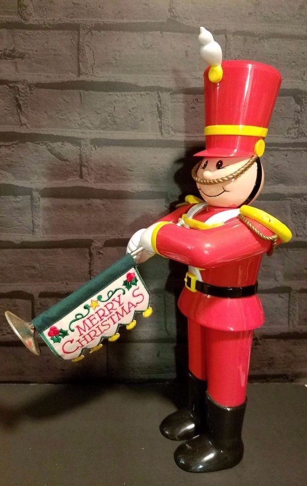 Musical Toy Soldier 12 Christmas Tunes Voice Command Christmas Magic 17""