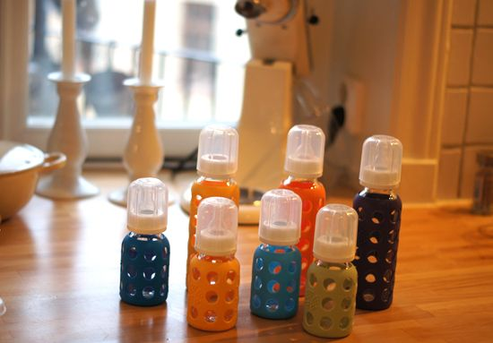 Mini Piccolini - Glass Baby Bottles