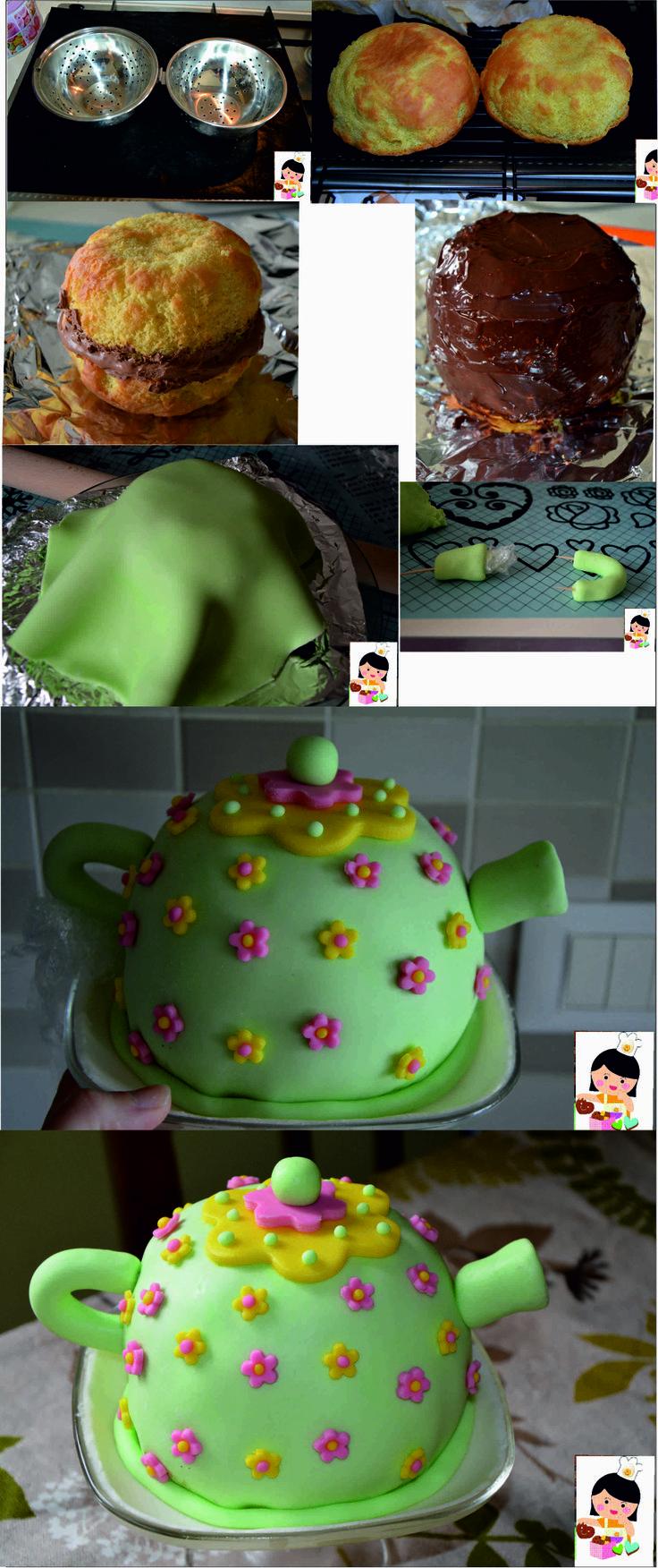 Come si fa una torta teiera usando come stampo un cuociriso!