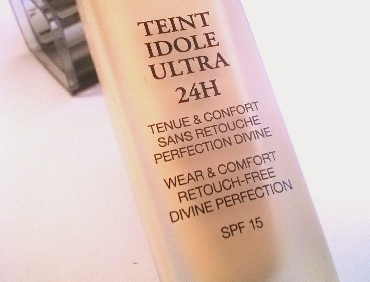 [ Reseña- Review] Teint Idole Ultra 24H de Lancome