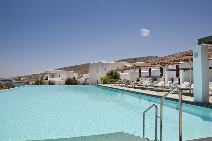 Enjoy every little moment! #AnemiHotel By the #pool #Folegandros #Cyclades