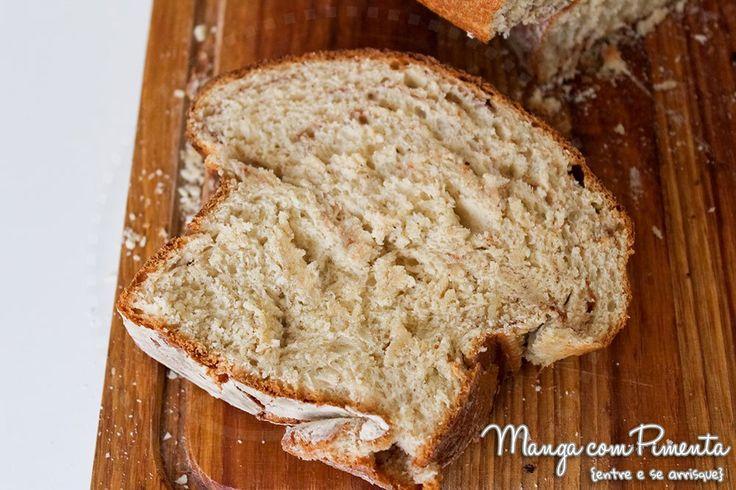 Receita de Pão de Canela