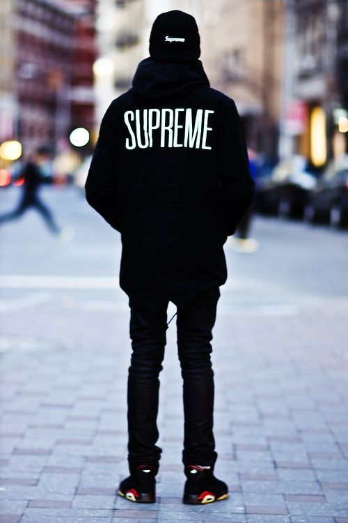 Supreme. All black everything! http://digitalthreads.co