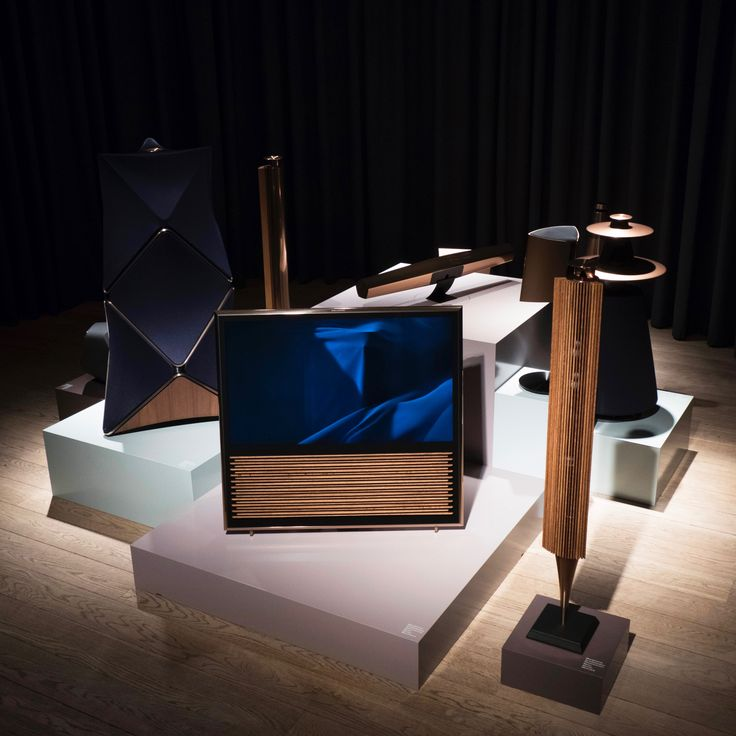 Cool Modern Collection in all its splendour at the Bang & Olufsen press event in Struer, Denmark.