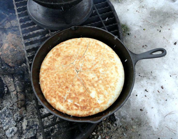 Bannock Bread 5 Cups Flour 5 Tsp Baking Powder Or Self