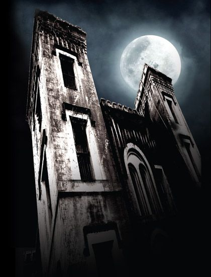 The Haunted Jail Tour in Charleston, SC- very educational and spooky.  I think this was my favorite ghost tour in Charleston!