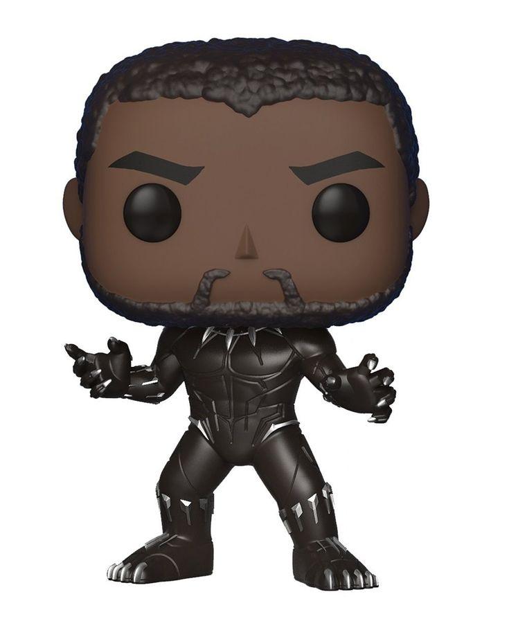 Funko pop marvel black panther black panther styles