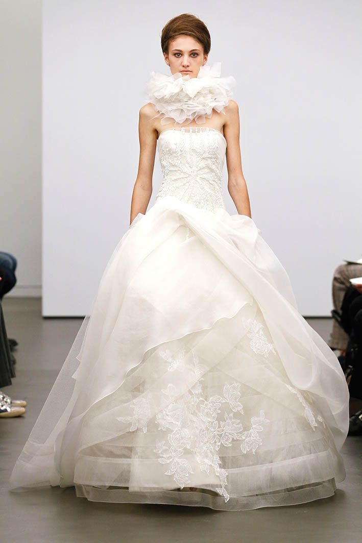 Wedding Gown By Vera Wang