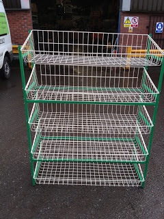 Experts in shop fitting & shop shelving | shelving4shops: New Stock: Vegetable Rack Displays