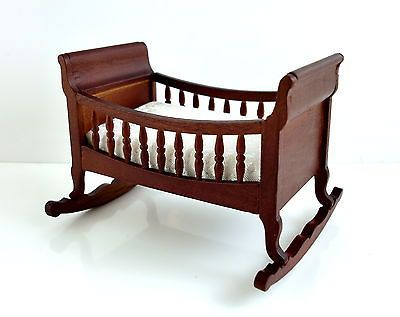 1089 best images about miniatures baby 39 s nursery on Wooden baby doll furniture