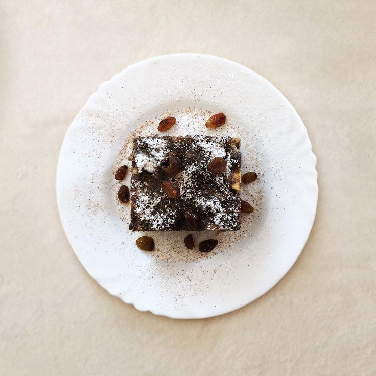 Dziś ne deser serwujemy japoński makowiec z jabłkami 🍪 #makowiec #poppyseed #cake #apple