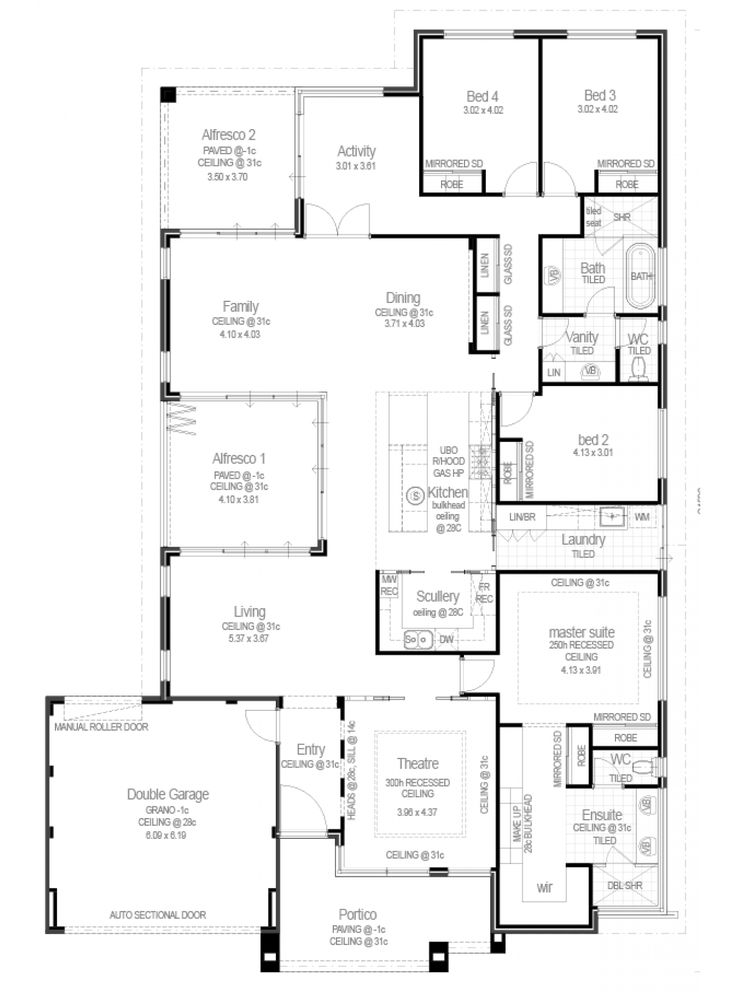 The Hamlin Display Home by Red Ink Homes - newhousing.com.au