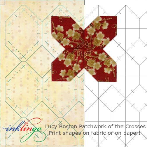 Templates for Lucy Boston Patchwork of the Crosses