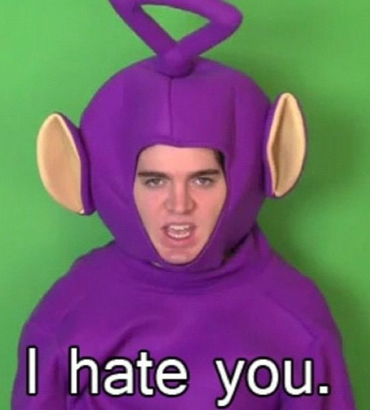 Shane Dawson-I've never seen any of his videos, but this is just plain hilarious. ~Frannie