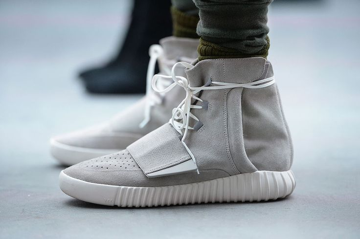 Kanye West Reacts to the First Completed Pair of Yeezy 750 Boosts