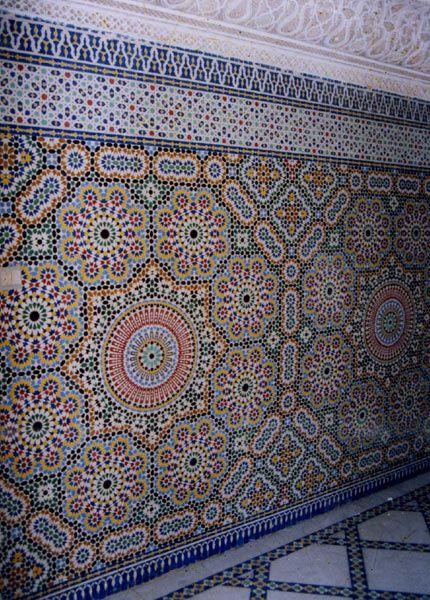 марокканская мозаика в интерьере - Поиск в Google