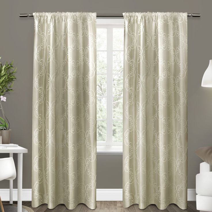 1000 Ideas About Rod Pocket Curtains On Pinterest Pillows Tab Curtains And Buffalo Check