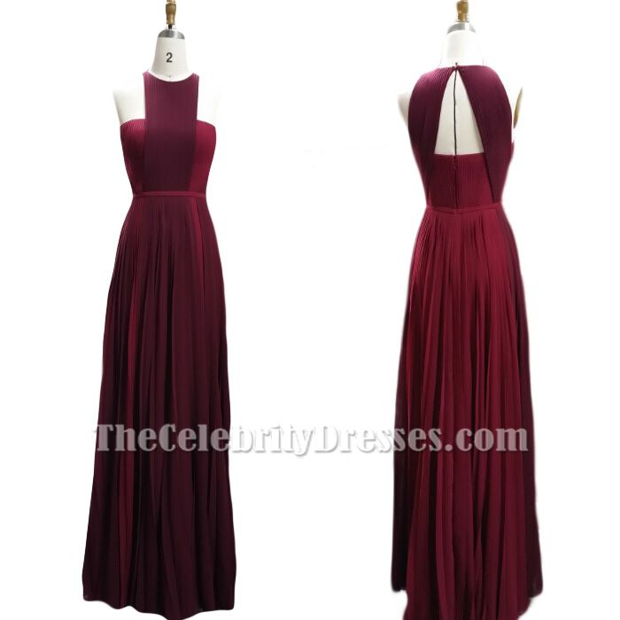Pretty color and neat style Blake Lively Burgundy Prom Dress Cannes 2014 Red Carpet ( US size 2, 4, 6, 8,10 (the color 'As in picture') are in stock ready to ship!)