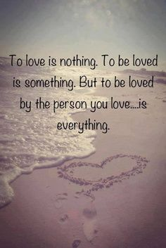 I love to be loved by you. Repin by Inweddingdress.com #lovequote