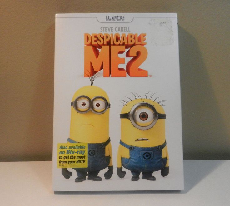 Despicable Me 2 DVD Movie Gru and Minions w bonus features New in sealed package