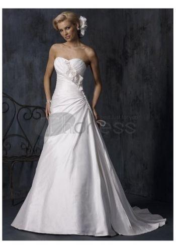 Abiti da Sposa in Pizzo-Moda abiti casual da sposa luminosi