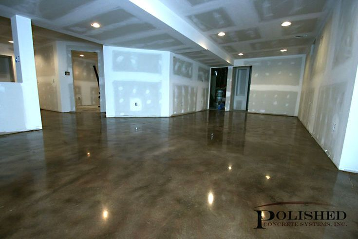 1000 ideas about polished concrete floor cost on for Concrete basement walls cost