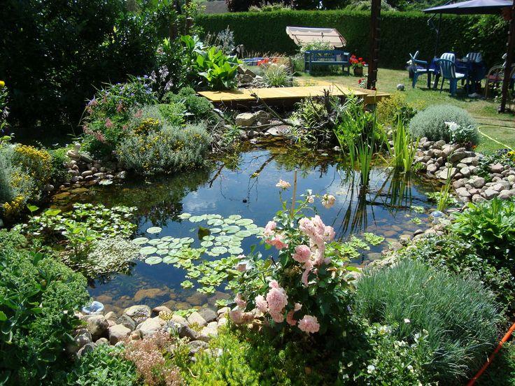 Die 159 besten ideen zu gartenteich ideen auf pinterest gartenteiche teiche und garten gestalten - Gartenteich gestalten bilder ...