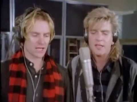 """BAND AID / DO THEY KNOW IT'S CHRISTMAS (1984) -- Check out the """"I ♥♥♥ the 80s!!"""" YouTube Playlist --> http://www.youtube.com/playlist?list=PLBADA73C441065BD6 #1980s #80s"""