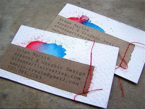 business card idea.. this is SO cute & creative.