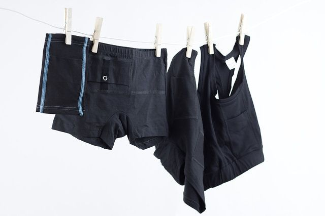 AnnaPS collection / Armband with integrated pocket for insulin pumps, glucose meter and other diabetic devices. Boxer briefs with short legs and one integrated pocket with button closure. Boxer briefs with two integrated pockets and sport bra with integrated pocket for all of your diabetic device storing needs!