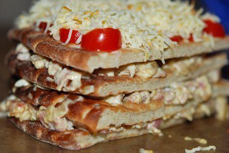 MATPLATSEN » Varm smörgåstårta på Hönökaka