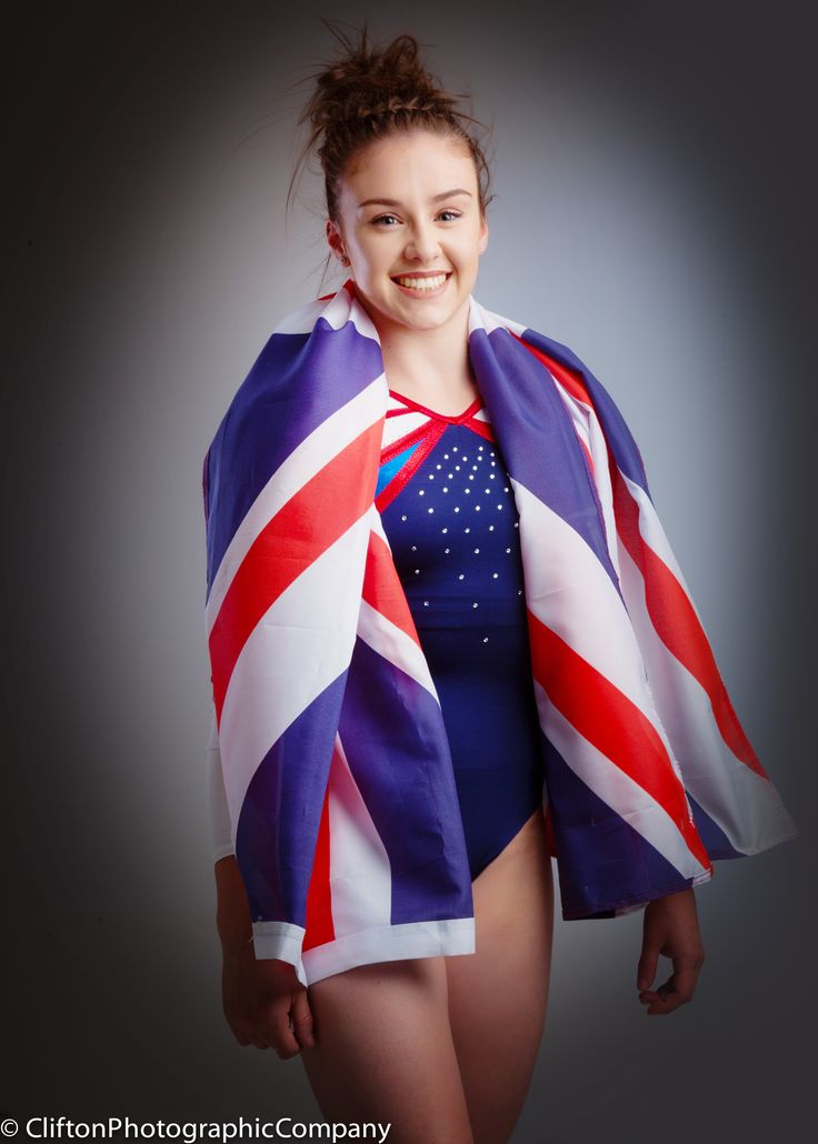 Olympic gymnast Ruby Harrold in our studio. Good luck in Rio Ruby! Visit www.cliftonphoto.co.uk/sm to book your shoot