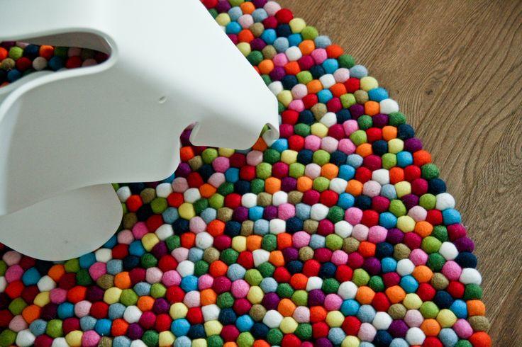 Beautiful carpet created by Blobbi - see Gooseberry by Blobbi