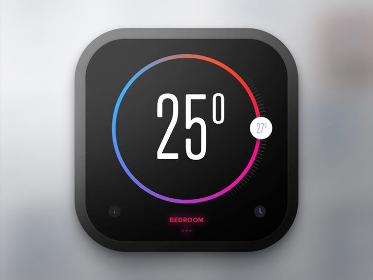 Day 020 - Thermostat Widget by Paul Flavius Nechita