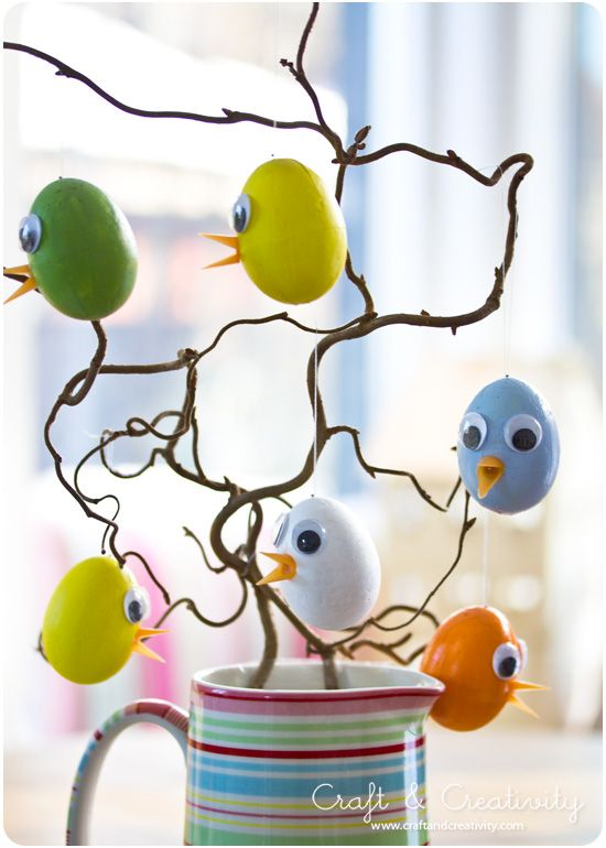DIY Easy Easter Chicks - by Craft & Creativity