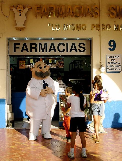 wackiest corporate mascot ever - Guadalajara, Mexico