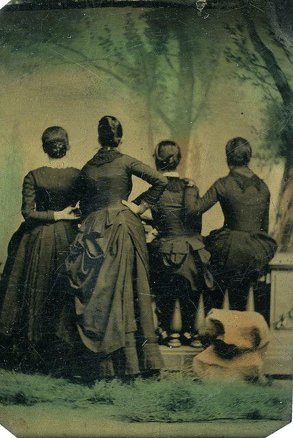#creepy #women #portrait #Victorian #1800s #vintage #19th_century