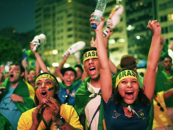 Manifestação a favor do Impeachment no Rio de Janeiro