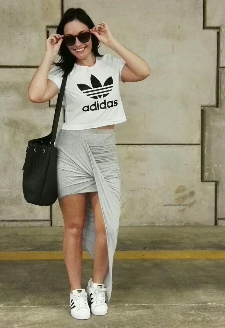 Adidas outfit #ellebellewears